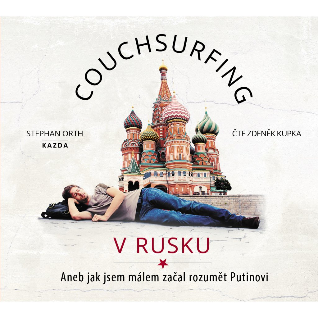 CD audiokniha Couchsurfing v Rusku